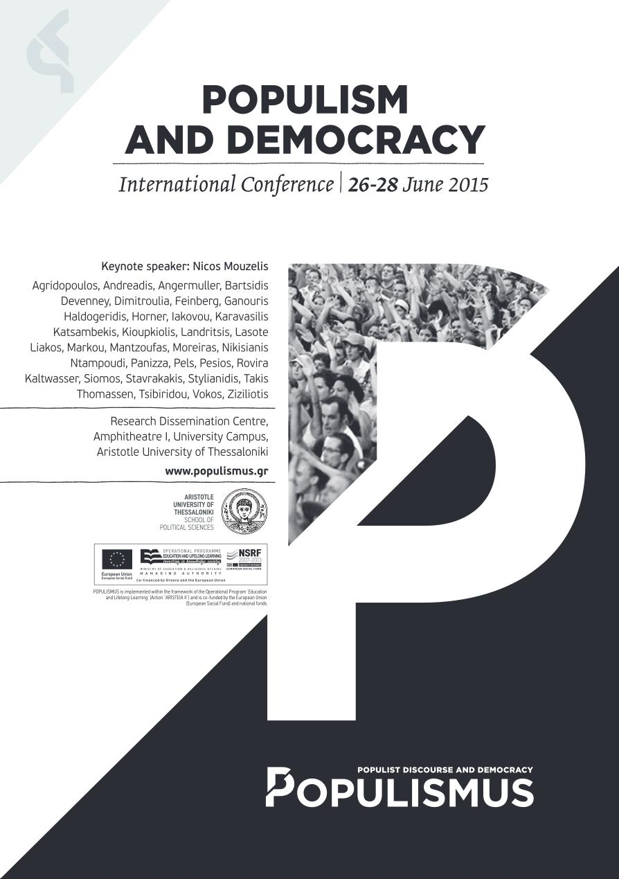 populism or politics of the mob a social phenomenon essay